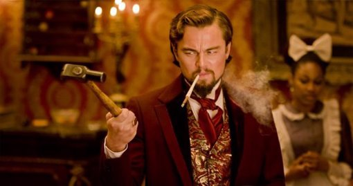 Leonardo DiCaprio, Django unchained, 2013, cinema, film, Hollywood