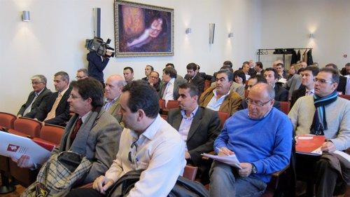 Alcaldes Región De Murcia En Reunión Federación Municipios