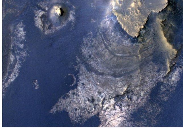 Cráter McLaughlin en Marte