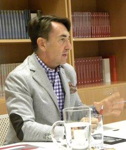 El director de la Fundación Carolina, Jesús Andreu