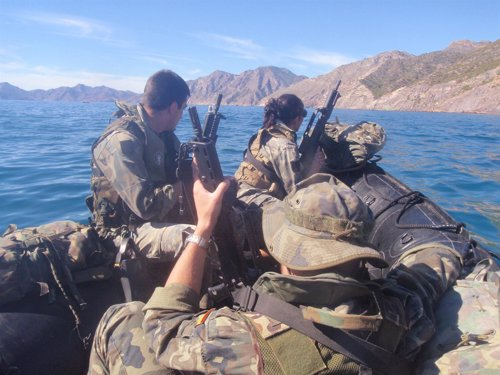 Tres militares de Operaciones Especiales