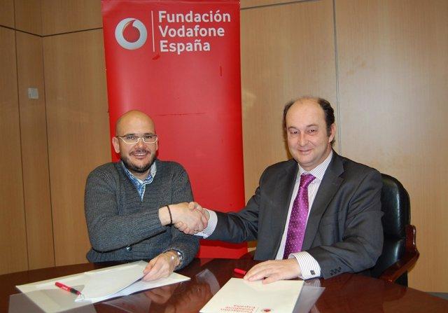 Convenio Fundación Vodafone España y COGAMI