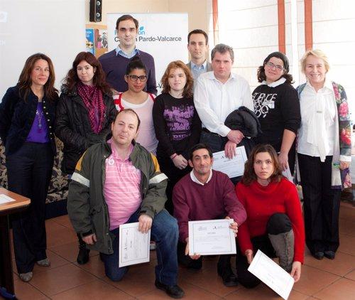 Diplomas I curso 'Mise en Place' de Fundación Carmen Pardo-Valcarce