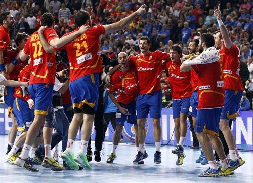 La selección española, campeona del mundo de balonmano