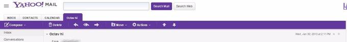 Hackeo cuentas Yahoo!