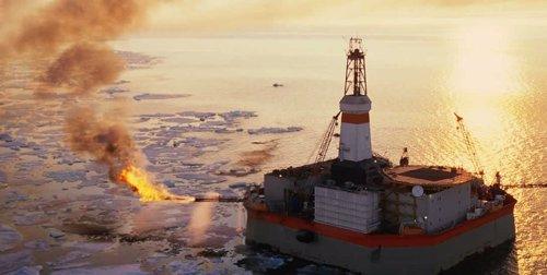 Campaña de Greenpeace para salvar el ártico en la web www.Salvaelartico.Es