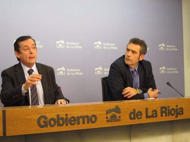 Javier Erro y Luis García del Valle