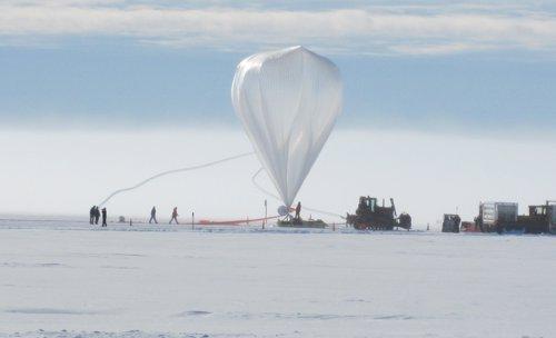 Globo científico de la NASA
