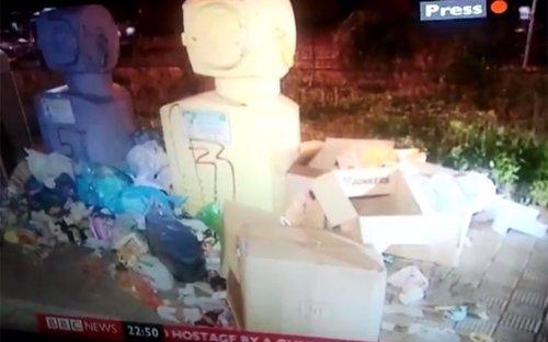 Basuras de Sevilla en la BBC