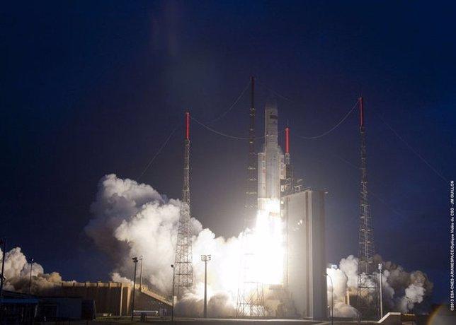 Lanzamiento cohete Ariane V
