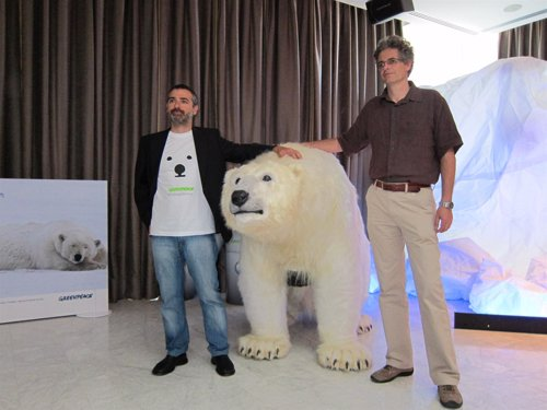 Greenpeace presenta la campaña para Salvar el Ártico en verano de 2012