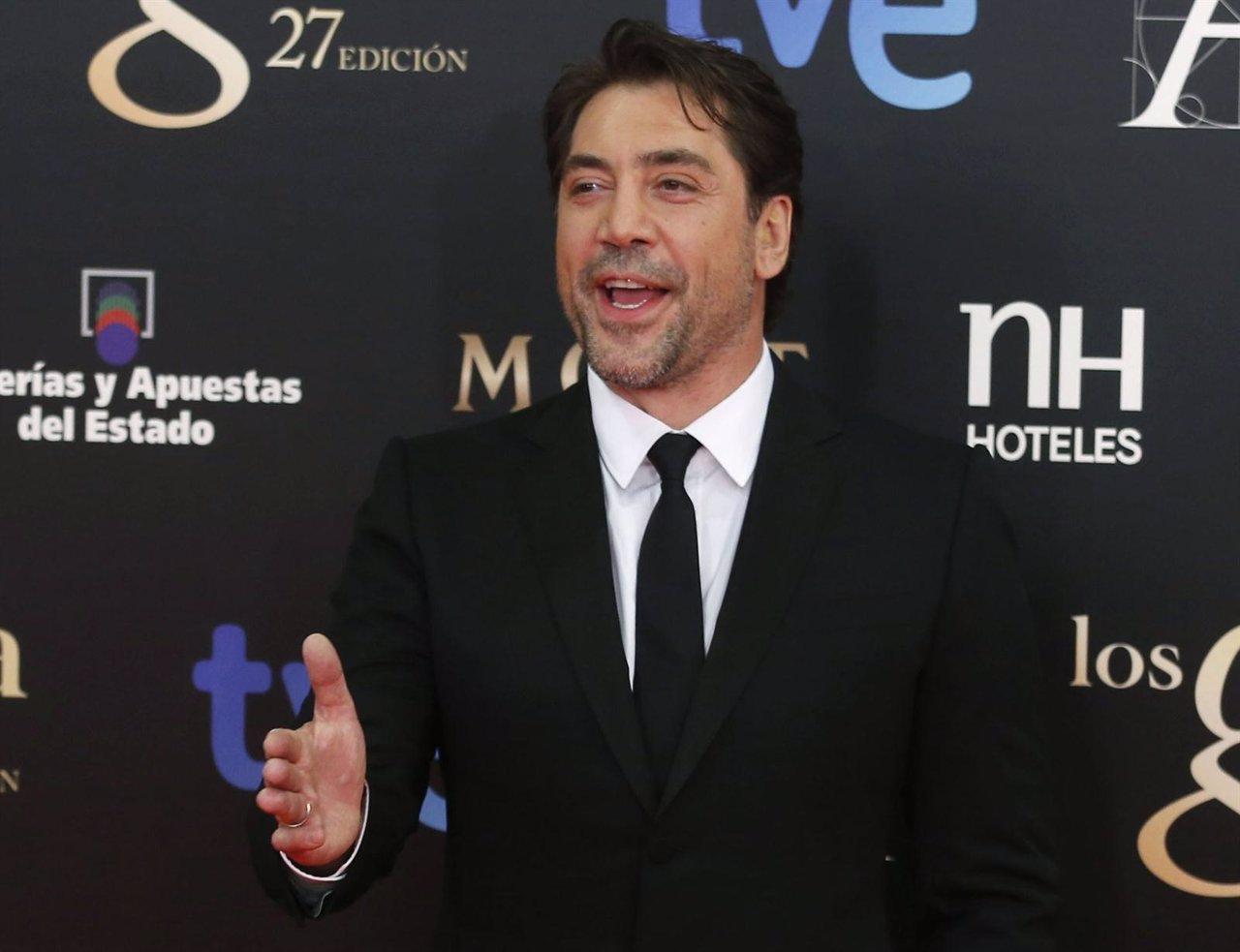 Javier Bardem en los Goya 2013