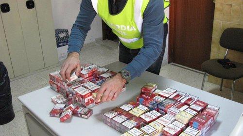 Cajetillas de tabaco decomisadas en la operación 'Recargo'