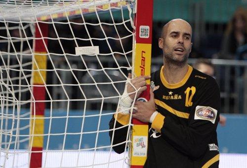 José Manuel Sierra Campeonato del mundo Balonmano 2013