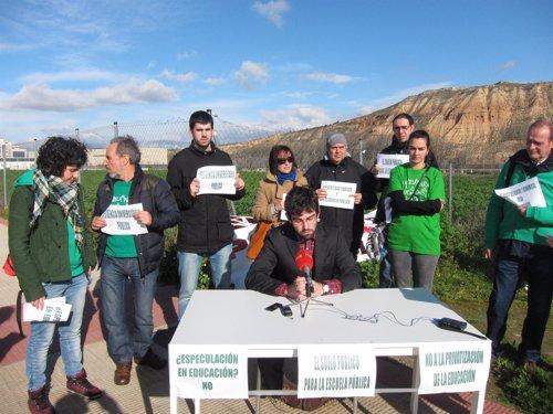 La Plataforma en defensa de la Escuela Pública en La Rioja