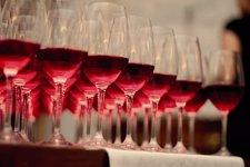 Vino, copa, rosado, vinos, cata