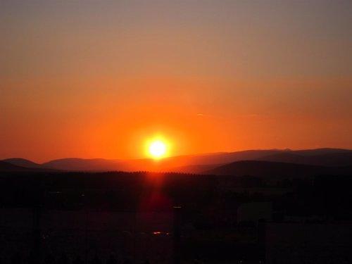 Anochecer, Puesta De Sol, Ocaso
