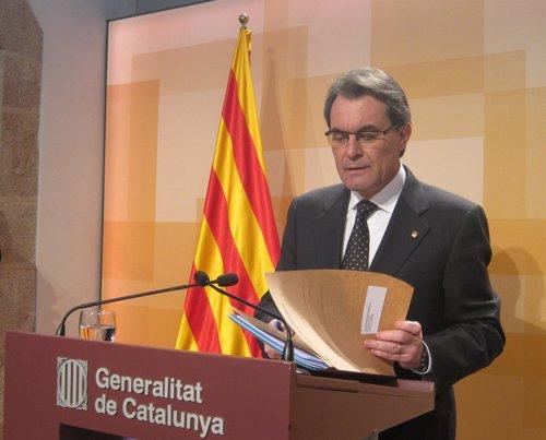 Artur Mas, pte.De la Generalitat