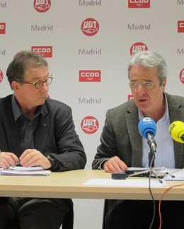 Cedrún y Martínez (CCOO y UGT Madrid)