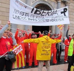 Trabajadores de Iberia