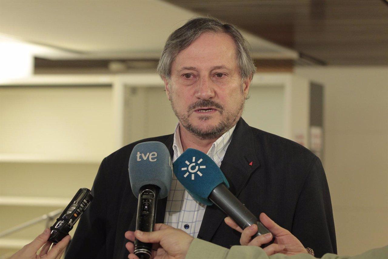 El eurodiputado de IU, Willy Meyer, en el Congreso
