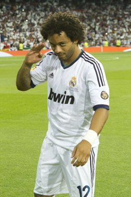 Marcelo  Real Madrid Supercopa