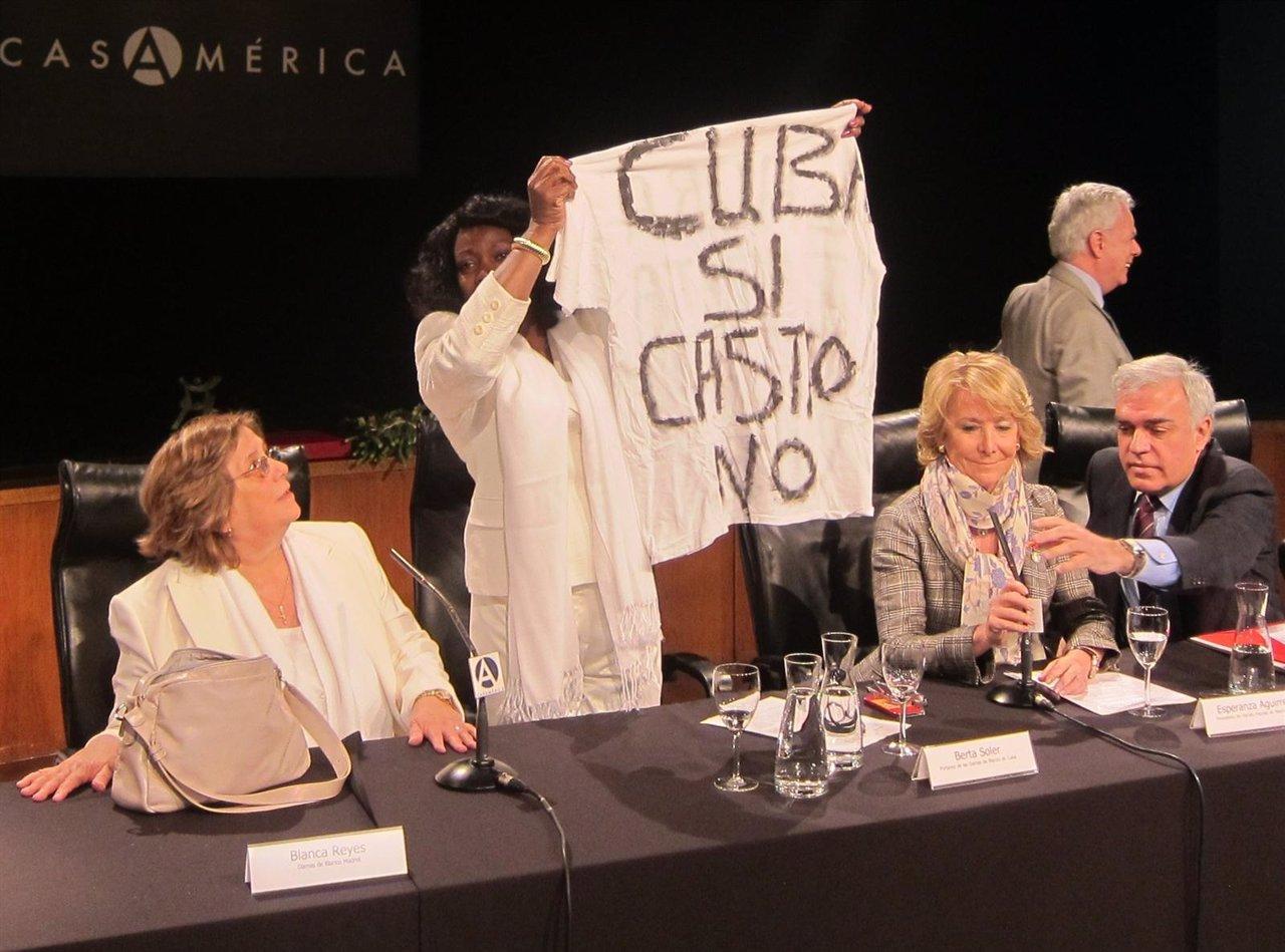 Blanca Soler, portavoz de las Damas de Blanco