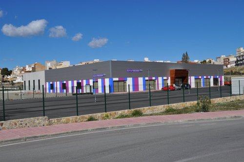 Centro deportivo de Albox sobre el que se ha ejecutado el embargo