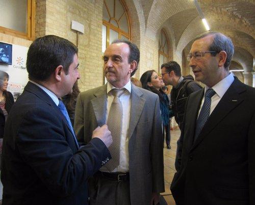 El consejero de Turismo, Rafael Rodríguez, hoy en Jaén