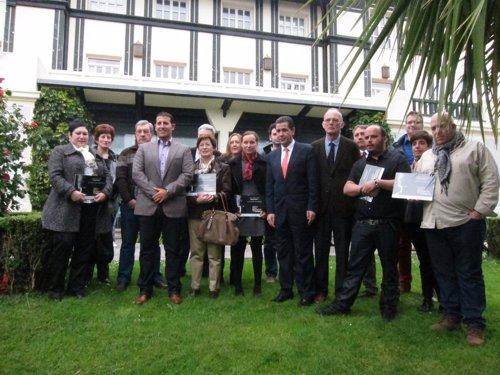 Entrega de premios de 'La ruta de pucheros de Cantabria'