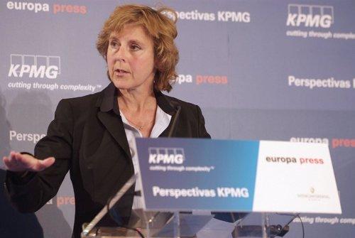 La comisaria de Acción Climática de la CE, Connie Hedegaard
