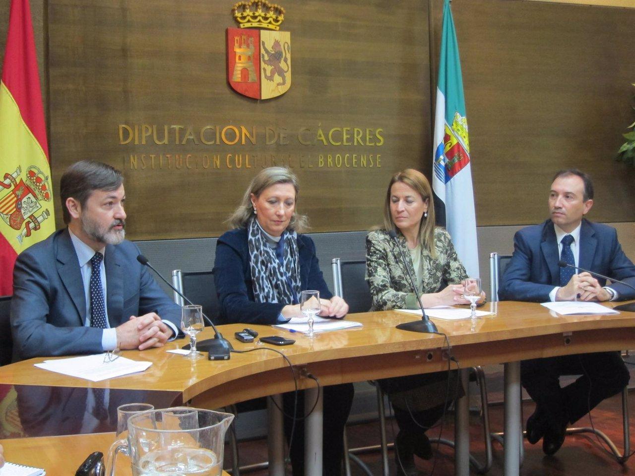 Presentación De La Reunión De Directores Del Instituto Cervantes En Cáceres
