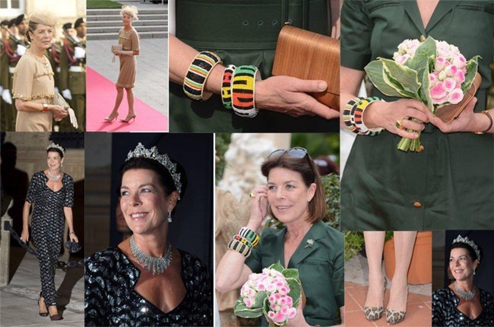 Vestidos de Carolina de Mónaco