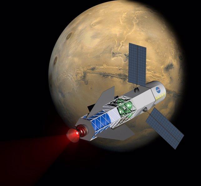 Cohete a Marte
