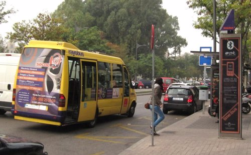 Autobús En Murcia