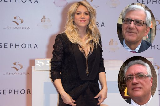 Shakira y abogados