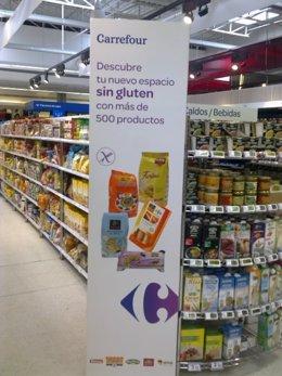 Carrefour y gluten
