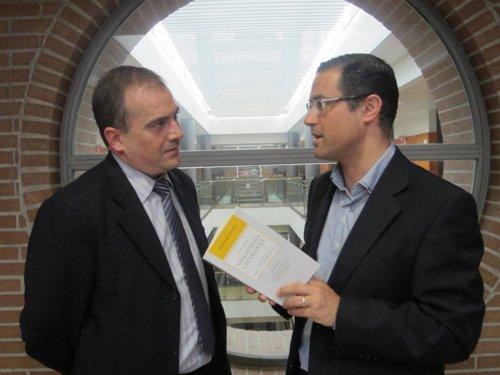 Los autores Alfonso Martínez Carbonell y Emilio García Sánchez