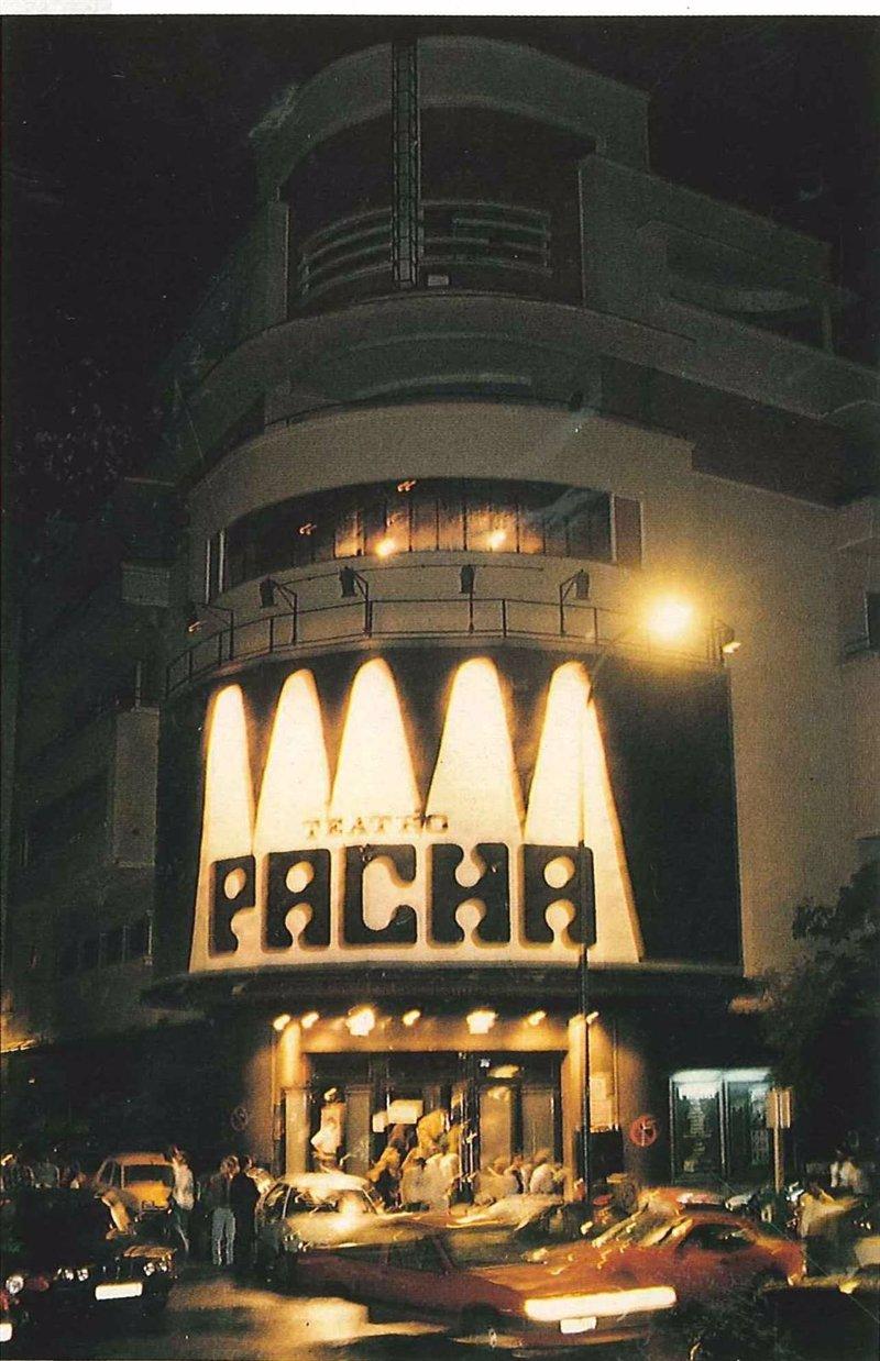 discoteca pacha de madrid: