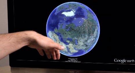 Google Earth Leap Motion