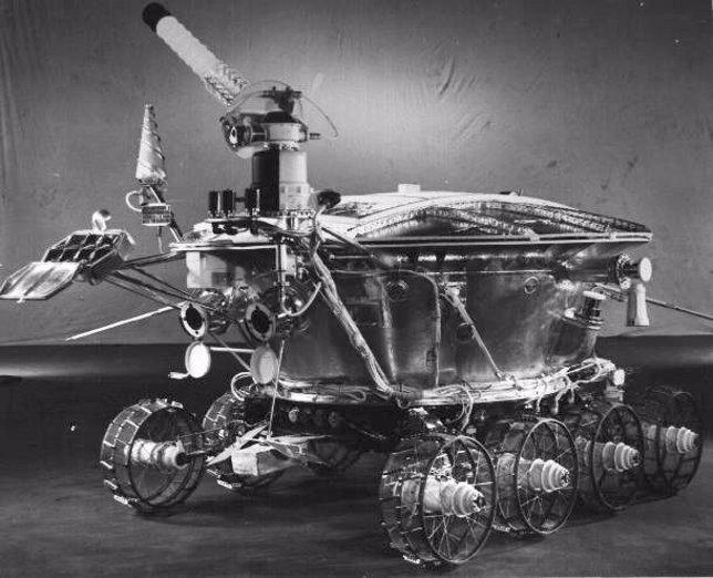 Lunokhod 1, robor de la URSS en la Luna (1970)