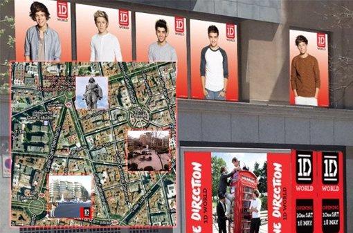 Sitio concreto de la tienda de One Direction, 1D WORLd
