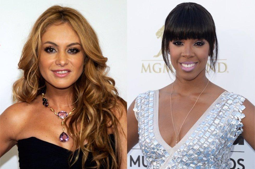 Paulina Rubio y Kelly Rowland posibles nuevos jurados Factor X USA