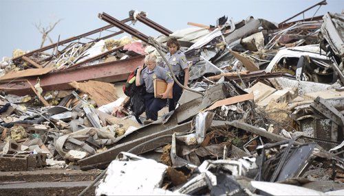 Tornado en Oklahoma