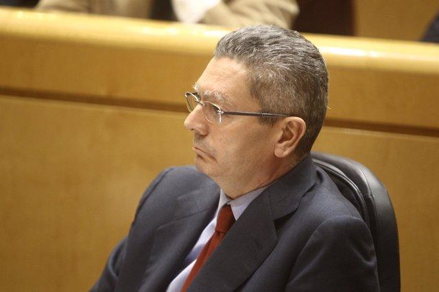 Gallardón en el Senado 6 de noviembre de 2012