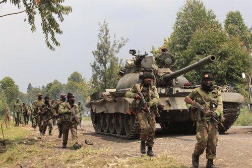 Tropas del gobierno congoleño marchan hacia el este de la RDC