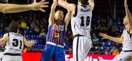 Foto: Previa del FC Barcelona Regal-Uxue Bilbao Basket (ACB PHOTO)