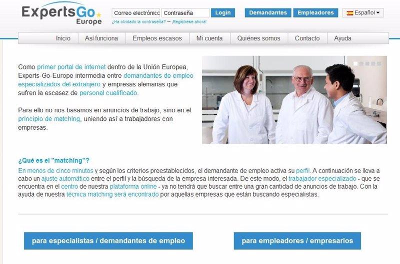 Un nuevo portal ayuda a espa oles a encontrar trabajo en for Portal empleo madrid