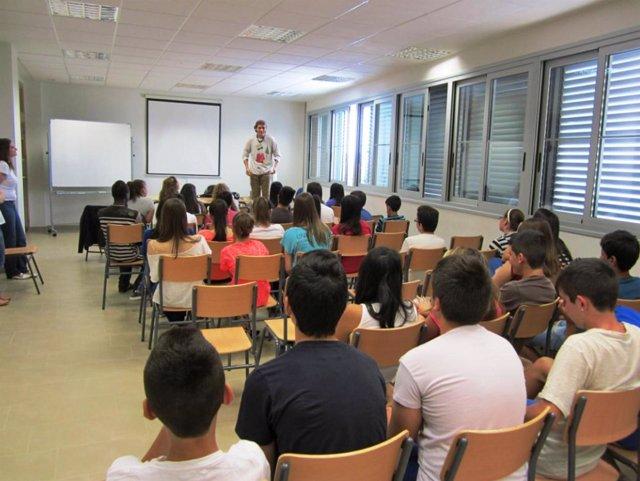 Los alumnos del IES Nº 2 de Las Torres de Cotillas