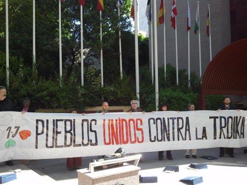 Rueda de prensa de Marea Ciudadana en Madrid